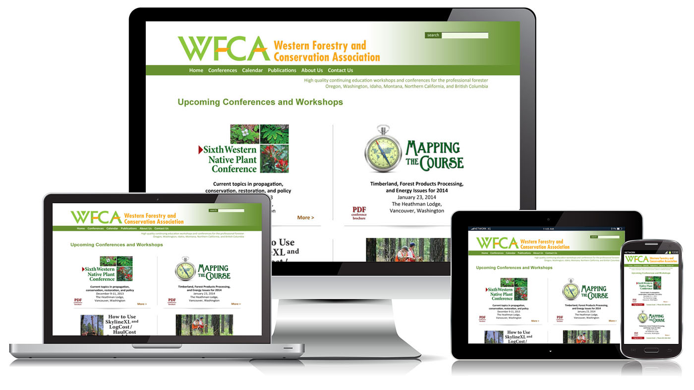 Responsive Design, website design, graphic design